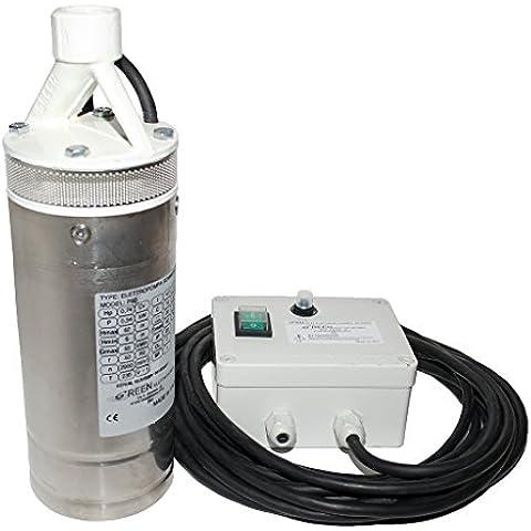 Pompa sommersa per acqua per pozzi e cisterne con 20