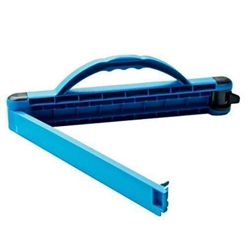 Tragfix Die perfekte Tragehilfe- Tragegriff- Verschluß und Lagervorrichtung Blau für Säcke bis max. 20kg Made in Germany