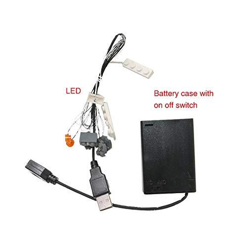 LED Beleuchtung Auto Außen, Diy Beleuchtung, Einfach zu Installieren, für LEGO 10220 VW CAMPER VAN