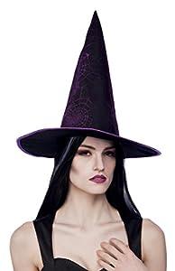 Boland 96932 - Bruja Webwicca para adultos, sombreros y demás tocados