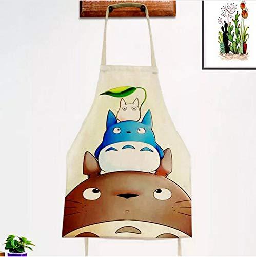WKEEN Totoro De Dibujos Animados Delantal Sin Mangas