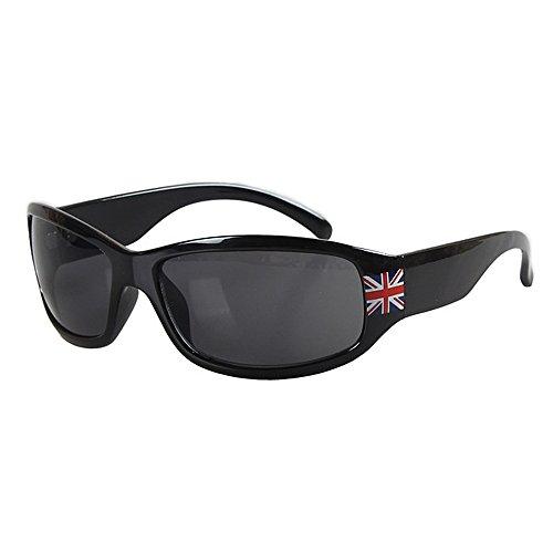 Yiph-Sunglass Sonnenbrillen Mode Kinder Sonnenbrillen Klassische Flagge Muster Kinder Sport Sonnenbrille für Jungen Umwelt UV-Schutz Kinder PC Objektiv Sonnenbrille