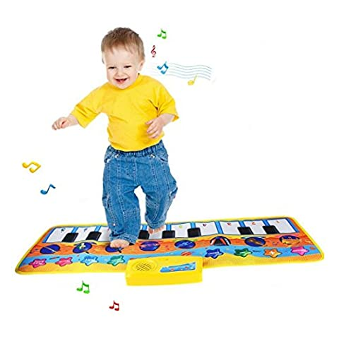 Coolplay Piano Music Keyboard Mat Electronic Blanket Touch Play Learn