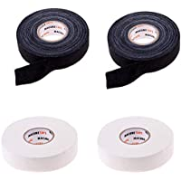 B Baosity 2 Pcs de Cinta Impermeable de Palo de Hockey Sobre Hielo Tamaño 22.5m x 2.5cm Hecho Poli-Algodón