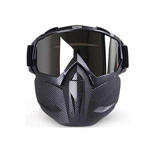MaxAst Sonnenbrille Motorradbrille Nacht Unisex Schutzbrille Winddicht Multicolor