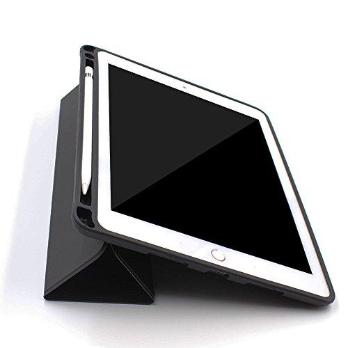 PINHEN Funda para iPad Pro 10.5 - Cáscara con Estuche para Lápiz Apple Soporte Conmutador para iPad Pro 10.5 Pulgadas