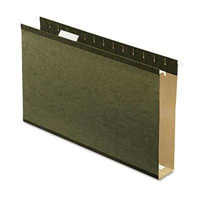 Pendaflex - Reinforced 2 Extra Capacity Hanging Folders Legal Standard