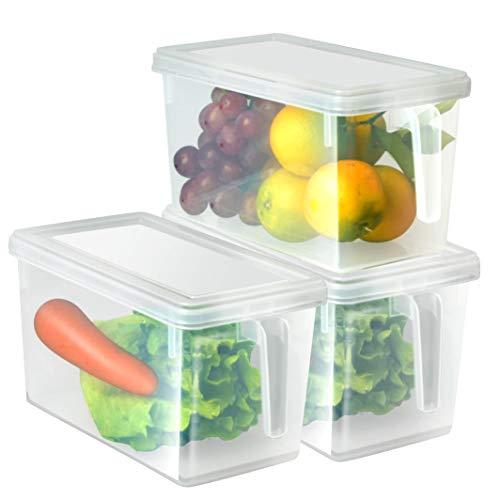 Organizador de alimentos HapiLeap para cocina/congelador, contenedor t
