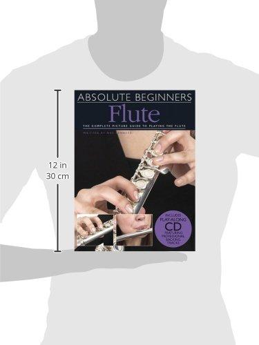 Absolute Beginners: Flute (Book & CD)