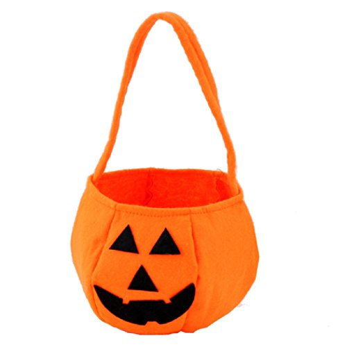 Halloween Smile Kürbis Tasche Kids Candy Bag Kinder Tasche (Halloween Kürbis)