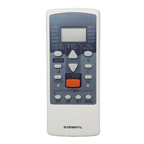 O General AR-JE4/AR-JE11 AC Remote Control (White)