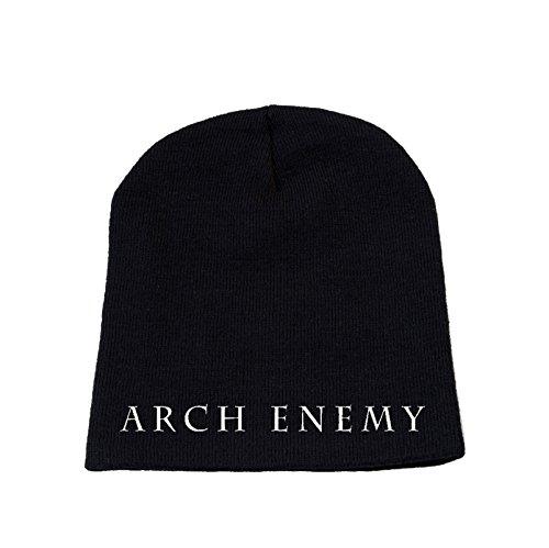 Preisvergleich Produktbild Arch Enemy Classic Symbol Logo Nue Schwarz Stretch Mütze Beanie One Size