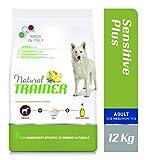 Trainer Natural Sensitive Plus - Cibo per Cani Medium&Maxi Adult con Cavallo-Riso-Olio 12kg