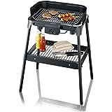 SEVERIN Barbecue-Grill, schwarz, 50.8 x 39.8 x 15 cm, PG 8532