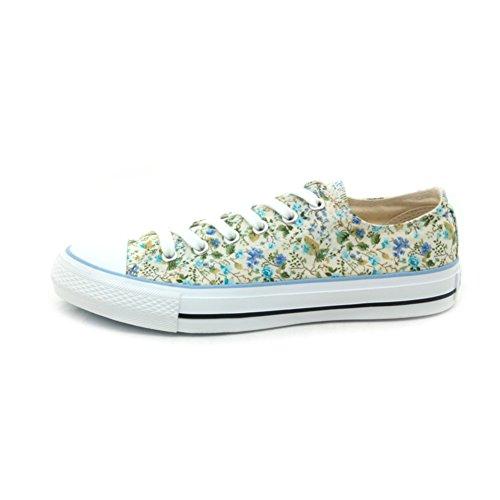 Autunnale e invernale scarpe con tela/ studente basso top sneakers/Fondo piatto scarpe-A Lunghezza piede=22.8CM(9Inch)