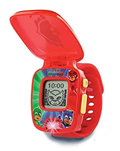 VTech PJ Masks - Owlette Learning Watch - Juegos educativos (Rojo, Niño/niña, 3 año(s), 6 año(s), Holandés, De plástico)