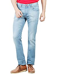 Numero Uno Blue Low Rise Slim Fit Jeans(Morice Fit)