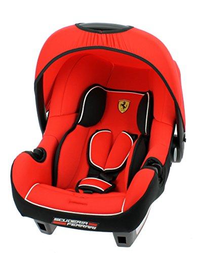 Osann Babyschale Babytrage Kinderautositz BeONE SP Ferrari Cosra 2015 rot, 0 bis 13 kg, ECE Gruppe 0 +, von Geburt bis ca. 15 Monate, mit Verdeck