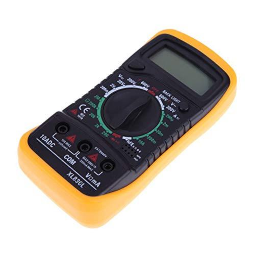 Uzinb LCD multímetro Digital XL830L Prueba Tester Volt eléctrico portátil ohmímetro del amperímetro del voltímetro
