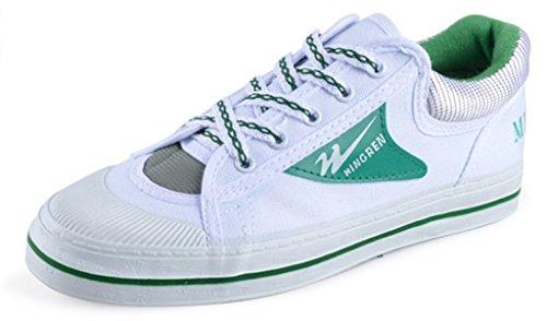 GFONE , Damen Sneaker Low-Tops Grün