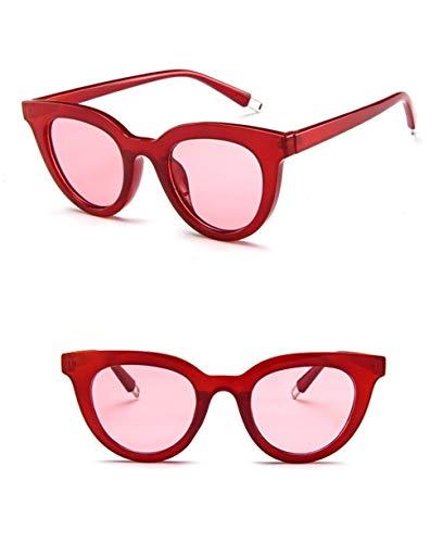 Wang-RX Sonnenbrille Für Lunettes De Soleil Mode Luxus Lady Femme Points Miroir