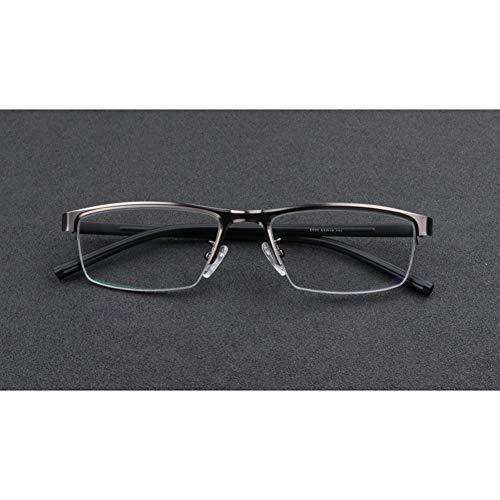 Smart photochromic myopia Glasses für Herren, verspiegeln optische Korrekturbrillen mit HD-Harzlinsenstrahlung / UV-Schutz - geeignet für Lesebüros (nicht lesende Brillen) von 50 bis 400,gray,225