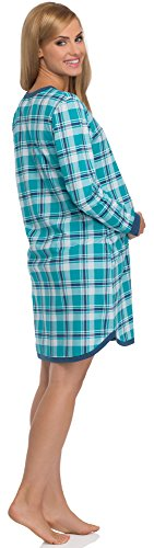 Cornette Stillnachthemd 654/03 Saphir