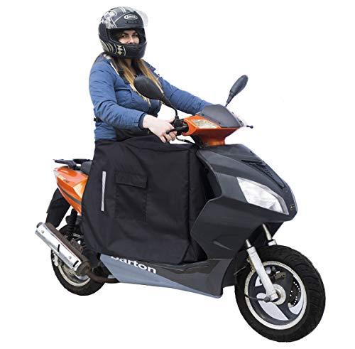 Beinschutz für Motorroller Roller Regenschutz Wetterschutz Abdeck-Nässeschutz-Plane Beindecke [088]