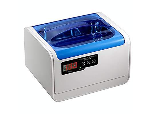 Lvein Ultraschallreiniger-Maschine, (1400ml) Haushaltsschmuck-Uhren Dentures Gläser Münzen und mehr, Personal Care Cleaner mit erweitertem Timer