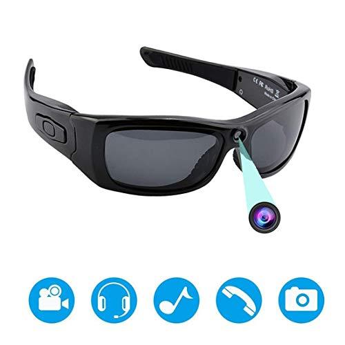 Gafas De Sol con Cámara Bluetooth, Cámara con Grabadora De Video Full HD 1080P con Lente Polarizada De Protección UV, Un Gran Regalo para Su Familia Y Amigos