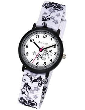 ZEEme Watches Unisex-Armbanduhr Analog Quarz Textil 095000039