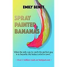 Spray Painted Bananas