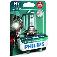 Philips 12972XV+BW X-Tremevision 130% H7 Lámpara Faro de Moto, 1 Unidad