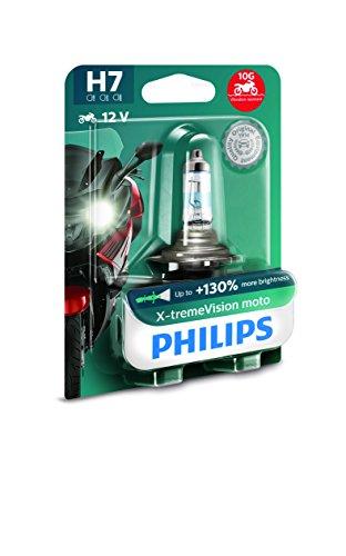 Philips 12972XV+BW X-Tremevision 130% H7 Ampoule de Phare de Moto, 1 Pièce