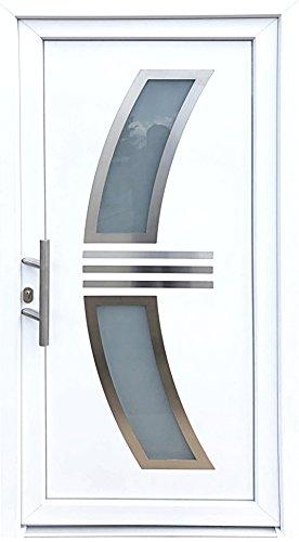 Nr. 3 Haustür 1000 x 2010 mm,Wohnungstür in weiß,Tür,Hauseingangstür,Innen L
