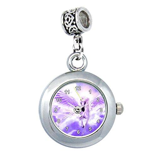 Einhorn Uhr für Armbänder und Ketten Rund Analog Quarz EBA0179