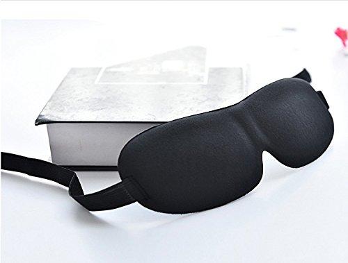 St. Mandyur 3d confortable Masque de Super léger souple Voyage sommeil reste Eye Shade Blinder pour homme et femme