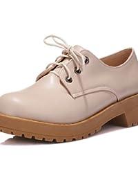 Njx / Chaussures À Talons Hug Femme Plat Confort / Pointu-plat Extérieur / Casual-semicuero-noir / Blanc / Vermillon, Blanc-us6 / Eu36 / Uk4 / Cn36, Blanc-us6 / Eu36 / Uk4 / Cn36