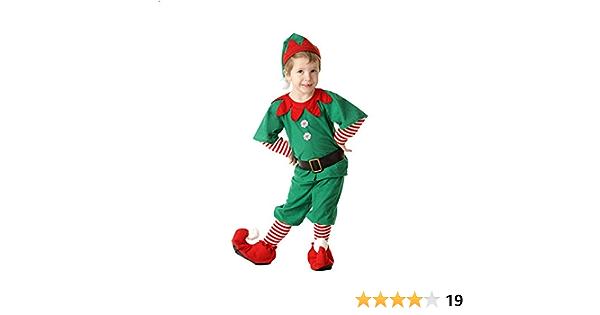 Pk 1 Child Christmas Elf Costume Medium