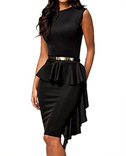 valin-elegantes-schwarz-mit-einseitiger-versteifung-drapiert-schosschen-kleidschwarzm