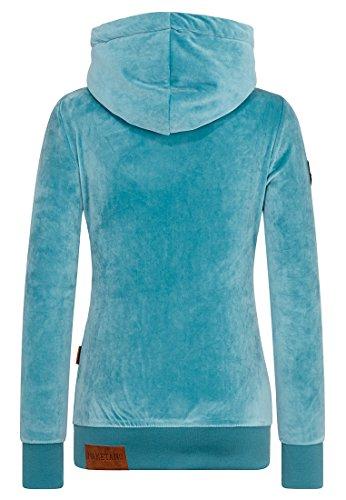 Naketano Female Hoody Darth Mack Mellow Blue