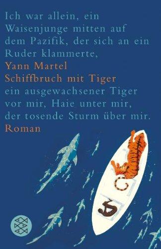 Buchseite und Rezensionen zu 'Schiffbruch mit Tiger' von Yann Martel