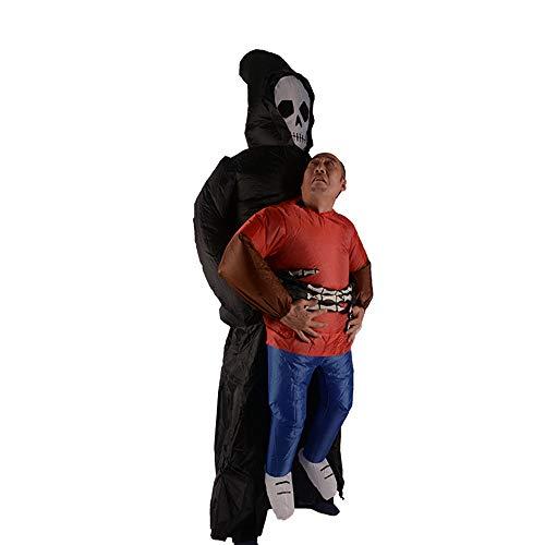 NINI Halloween Aufblasbare Kostüme, Requisiten, Lustige Puppen, Schreckliche Gespenster, Aufblasbare Anzüge