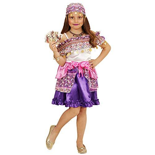 Zigeuner Kostüm Kinder Mädchen - Widmann 49415 Kinderkostüm Zigeunerin, 116