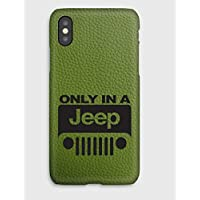 Funda para el iPhone X,XS, XS Max, XR, 8, 8+, 7, 7+, 6S, 6, 6S+, 6+, 5C, 5, 5S, 5SE, 4S, 4, Only in a Jeep