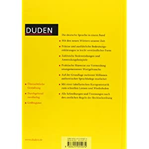 Deutsches universalwörterbuch. Con CD-ROM