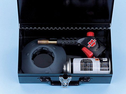 Würth PISTOLA TERMICA GAS Assortimento / SET loetpist-gas-set-powerjet 98490001