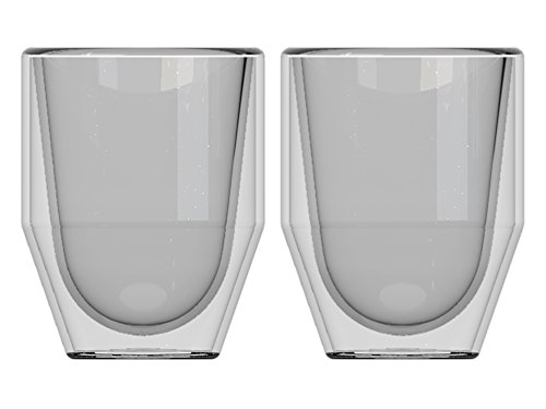 La Cafetiere Healthy Living Fika Tasses, Isolation Thermique en Verre, 5.5 x 5.5 x 7 cm