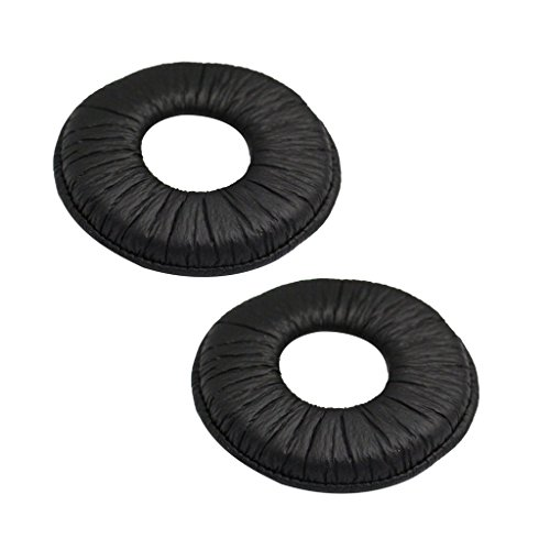 Sharplace Ear Pad Replacement, Various Models Headphone Accessories - Black for Sony MDR-ZX110