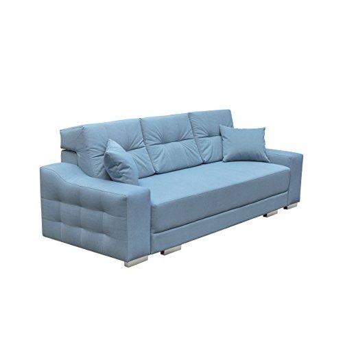 Modernes Schlafsofa Cypis Sofa mit Bettkasten und Schlaffunktion, Bettsofa, Design Schlafcouch, Wohnlandschaft, Polstersofa (Novel 09)